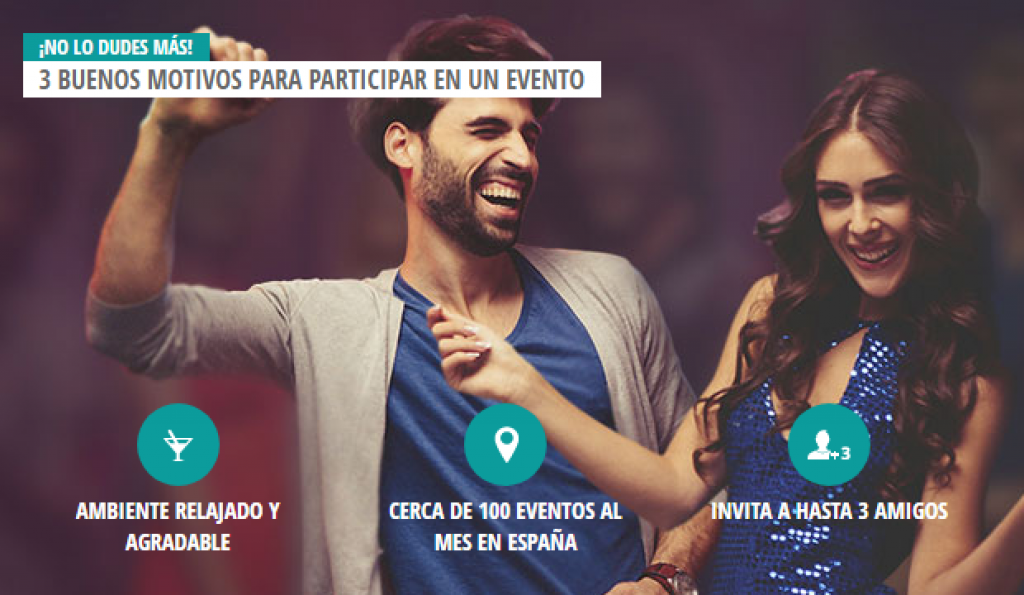 eventos gratis Meetic