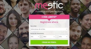 meetic 7 dias gratis