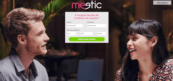 Meetic : comment s'inscrire gratuitement