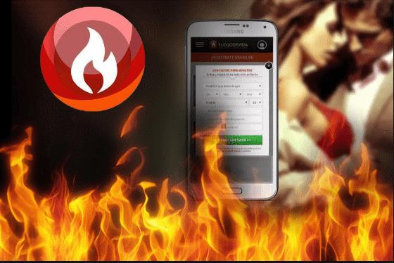 Logo de Fuego de Vida opiniones en llama
