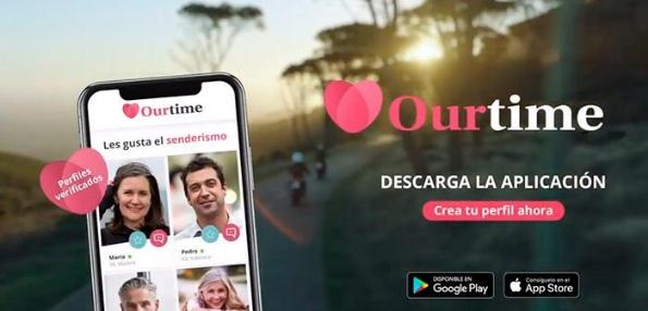 Ourtime: Mejor Aplicación para ligar para adultos