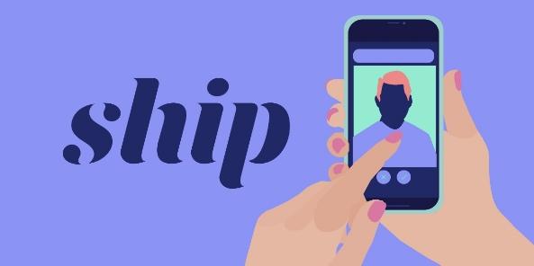 Logo de Ship, de las mejores aplicaciones para ligar.