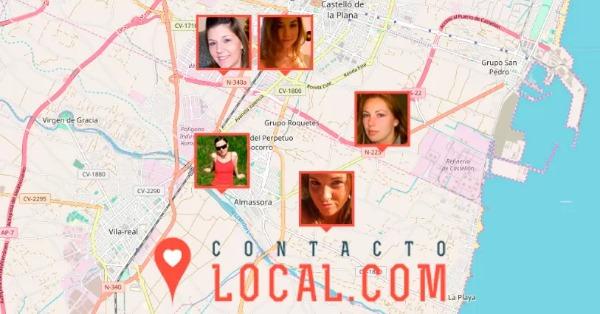 Mapa donde se localizan los usuarios de Contacto Local