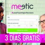 Meetic 3 días gratis